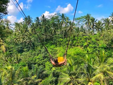 Bali Swing in Ubud Indonesia
