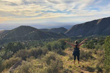 La Luz Trailhead Albuquerque New Mexico Travel Hiking
